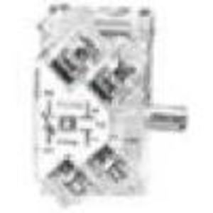 "Square D 9001KA1 Contact Block, 1NO/NC, 30mm, 0.75"" Depth"