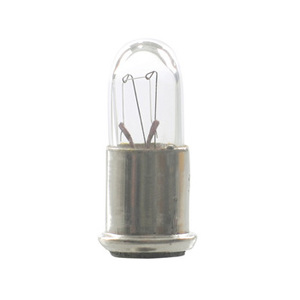 Candela 387-GEM Miniature Lamp, 28 Volt, 1 Watt, Single Contact Miniature Flange