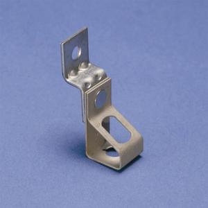 "Erico Caddy 4TIO Offset Hanger Bracket, Type: Threaded Rod, 1/4"" Hole, Steel"