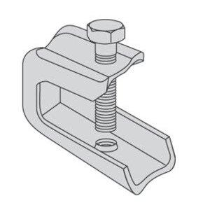 Power-Strut PS135X-EG Light Duty Beam Clamp