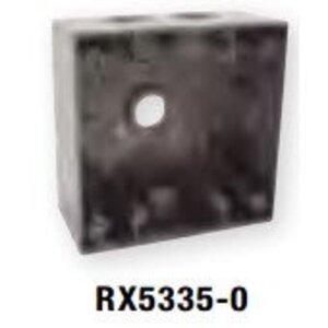 """Bizline RX5335-0 Weatherproof Outlet Box, 2-Gang, 2"""" Deep"""