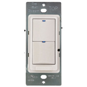 Wattstopper LVSW-104-LA Low Voltage Switch, 4 Button W/led, Light Almond