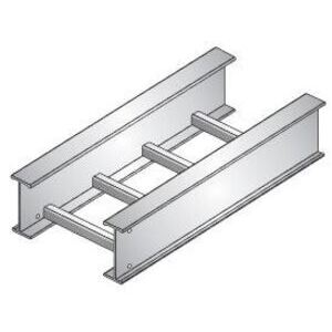 "United Structural Products A620C-09-SL20-12-G Ladder Cable Tray, Aluminum, 12"" Wide x 20' Long, 9"" Rung Spacing"