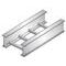United Structural Products A620C-09-SL20-12-G Ladder Cable Tray, Aluminum, 12
