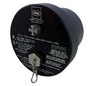"R. Stahl 8626/1-DZS2S-X05P0B  Purge /Pressurization Indicator, 24V DC, ""Z"" Type"