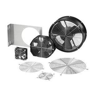 """Hoffman A3AXFN Compact Cooling Fan, Size: 3"""", 115VAC, Metallic"""