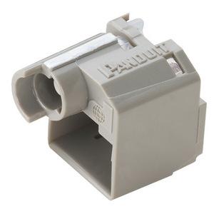 Panduit PSL-DCPLR-IG Recessed Lock-in Device, Ten Devices (Gr