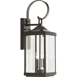 Progress Lighting P560022-020 2-Lt. Antique Bronze Medium Wall-Lantern