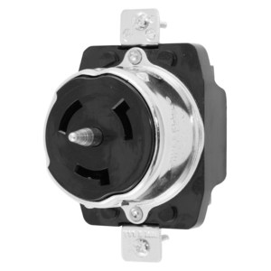 Hubbell-Kellems CS6369 Locking Receptacle, 50A, 125/250V, California Style, 3P4W