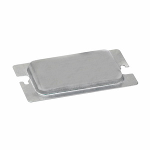 Eaton B-Line BPR1 METAL PROTECTOR PLATE FOR ONE DEVICE RECEPTACLE & GFCI