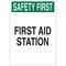 22647 FIRST AID SIGN