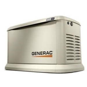 Generac 70422 Generator, Standby, 20kW, 120/240VAC, 100A, 1PH, LCD Display, WiFi