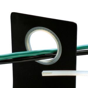 Panduit GES99F-A-C Grommet Edging, Solid 100', Adhesive Pol