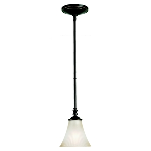 Sea Gull 61935-782 Mini-Pendant Light, 1 Light, 100W, Heirloom Bronze