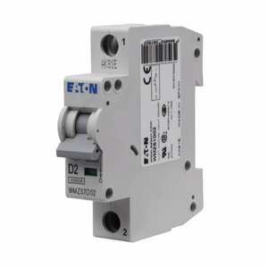 Eaton WMZS1D08 Ul 1077 Mcb D Curve 1 Pole 8 Amp Breaker