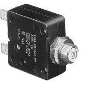 Tyco Electronics W58-XB1A4A-3 3 Amp Thermal Circuit Breaker