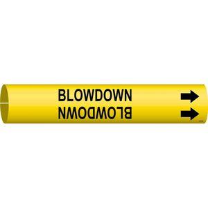 4014-B 4014-B BLOWDOWN/YEL/STY B