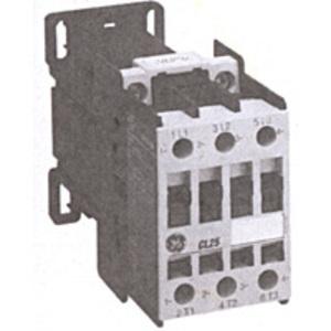 GE LDR00AD Contactor, Reversing, 3P, 10A, 460VAC, 24VDC Coil, Open, 1NO