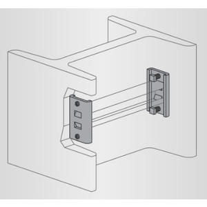 Power-Strut PS-2654-HG Column Insert Beam Support, Steel/Hot Dip Galvanized