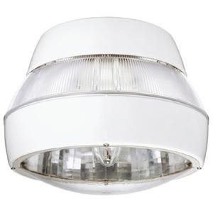 Lithonia Lighting PGR100M/120V-W/LAMP Parking Garage Fixture, Metal Halide, 100W, 120V