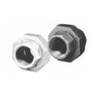 "Matco-Norca ZMBUN07 Pipe Union, 1-1/2"", Black, Malleable Iron"