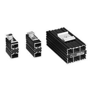 nVent Hoffman DAH601 Semiconductor Heater, 60W, 110/120V AC/DC, Aluminum