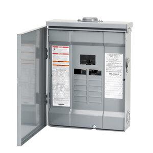 Square D HOM816M100PRB Load Center, Homeline, Main Breaker, 100A, 120/240VAC, 8/16, NEMA 3R