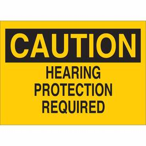 22407 EAR PROTECTION SIGN