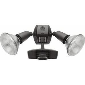 RAB STL110R Motion Sensor/Light, Stealth, 1000W, Bronze