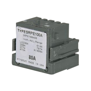 GE Industrial SRPF250A200 Rating Plug, 200A, 480VAC, 590-2000 Trip Range, Spectra Series