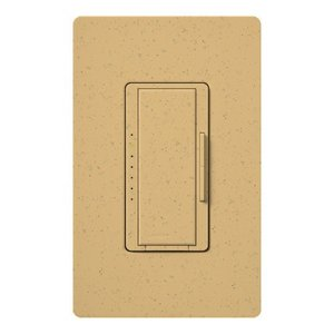 Lutron MSCELV-600M-GS Electronic Low-Voltage Dimmer, Goldstone
