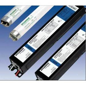 SYLVANIA QHE-3X32T8/347-ISL-SC Electronic Ballast, Fluorescent, T8, 3-Lamp, 32W, 347V, Limited Quantities Available