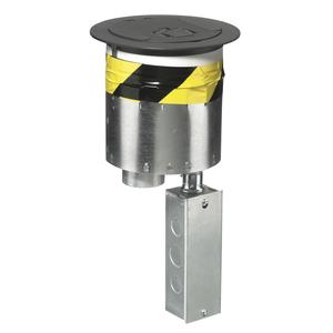 Hubbell-Wiring Kellems S1R6PTDEHBLK S1R FRPT 6 4X 20A 4U IS 1 SL+2 KS BLK
