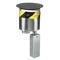 Hubbell-Wiring Kellems S1R6PTBLK S1R FRPT 6 NO SUB PLATES BLACK