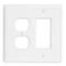 PJ826-W WH WP 2G 1DECO 1DUP NYLON