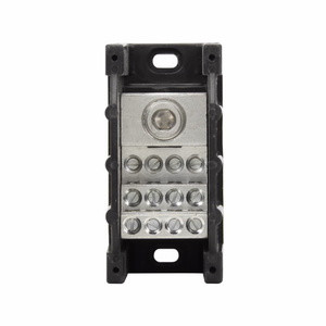 Eaton/Bussmann Series 16370-1 Power Distribution Block, 1-Pole, Single Primary - Multiple Secondary