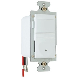 Pass & Seymour RWU600U-WCC4 Occupancy Sensor, Infrared, Wall Mount Switch, Single Pole, White *** Discontinued ***