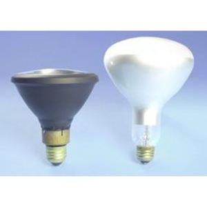 SYLVANIA H44GS-100/MDSKSP Mercury Vapor Lamp, PAR38, 100W, Blacklight *** Discontinued ***