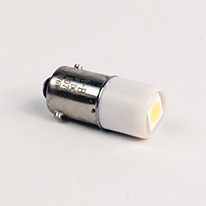 Allen-Bradley 800T-N376W Miniature LED Lamp, Indicator, .13/.085A, 3V