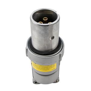 Appleton ACP3033BC Clamping Ring Plug, 30 Amp, 3-Pole, 3-Wire