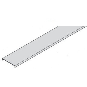 """Eaton B-Line 808A-04-120 Wrap Around Cover Clamp, for 4"""" Wide Channel, Aluminum, 10'"""