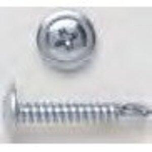 """Bizline R812WT5 Self-Drill Screw, Wafer Head, Phillips, 8 x 1/2"""""""