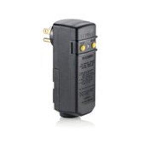 Leviton 16693-1 Right Angle GFCI Plug, 15A, 120V, Black
