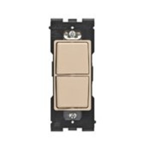 Leviton RE634-DT LEV RE634-DT RENU 2 SWITCH COMBO