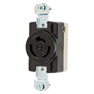Hubbell-Wiring Kellems HBL7310BG LKG RCPT, 2P3W, 20A