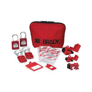 Brady 105967 Personal Breaker Lockout Kit (With Padlocks)