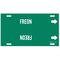 4061-H B915 STYLE H  WHT/GRN  FREON