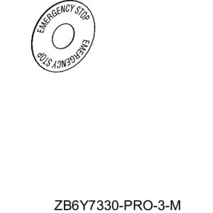 ZB6Y7330 16MM OPERATOR/ACCESSORIES