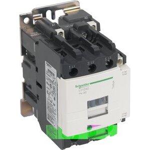 Square D LC1D40G7 Contactor, Definite Purpose, 40A, 3P, 600VAC, 300VDC, 120VAC Coil