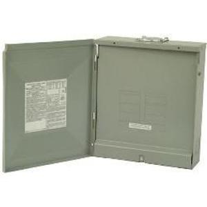 Eaton BR1224L125R Load Center, Main Lug, 125A, 120/240V, 1PH, 12/24, NEMA 3R